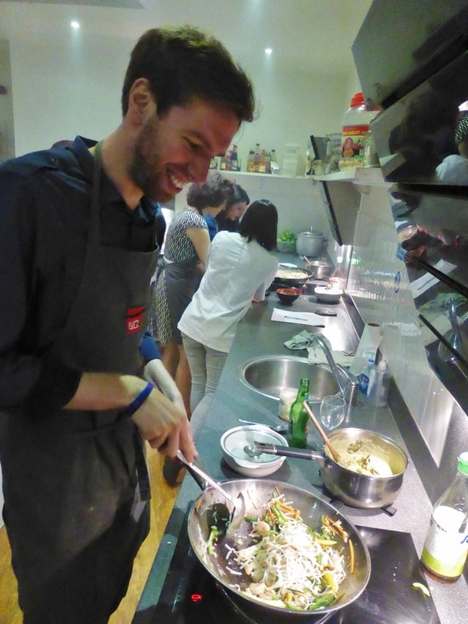 School of Wok Covent Garden Thai cooking class