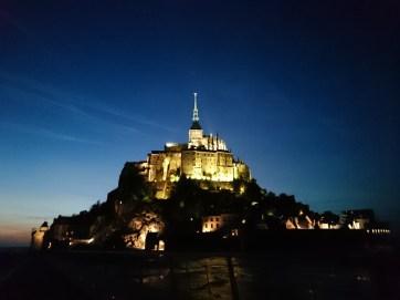 Dusk at Mont St-Michel