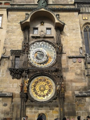 The famous clock