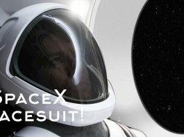 SpaceX spacesuit