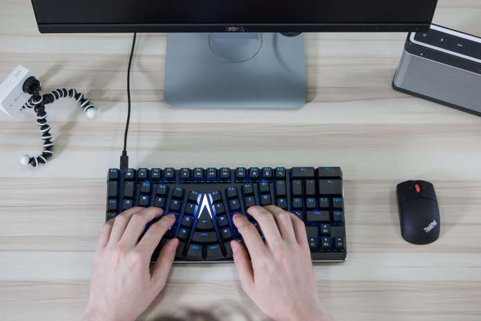 X Bows keyboard for work