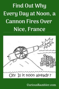 Cannon Fires Over Nice, France