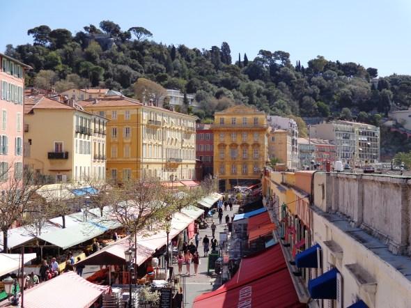View along Cours Saleya