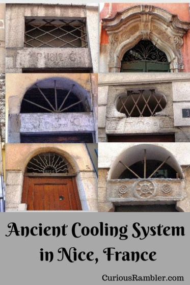 Ancient Cooling System in Nice, France