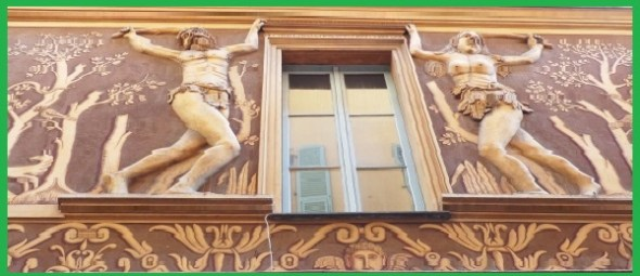 Adam and Eve house, maison d'adam et eve, nice france