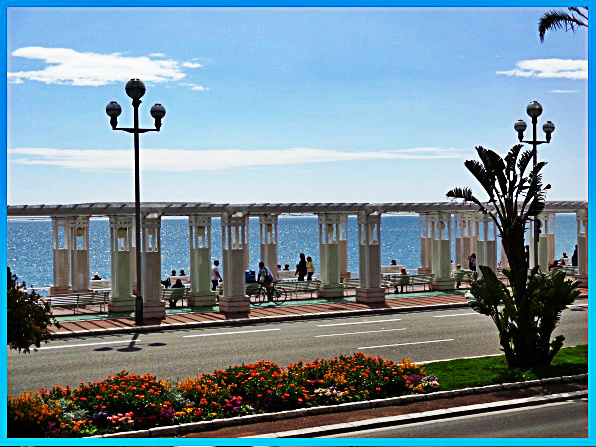 Promenade des Anglais, English Promenade, Nice France