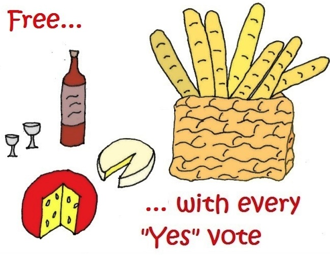 food for votes