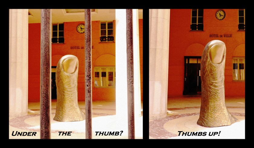 césar thumb, Nice France