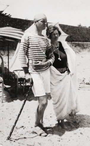 Gerald and Sara Murphy on the French Riviera