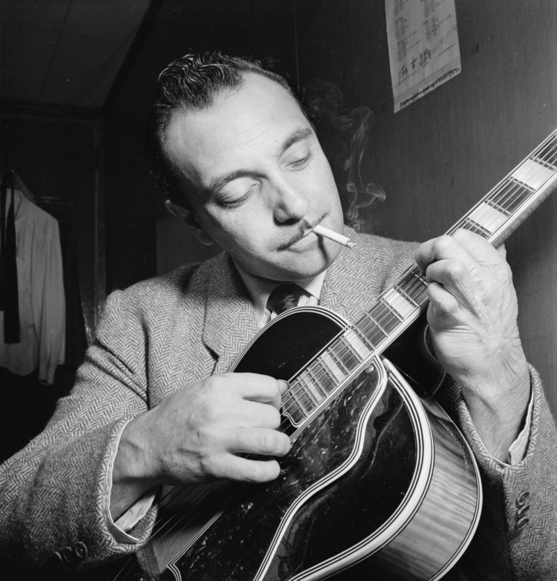 Django Reinhardt, French jazz guitarist