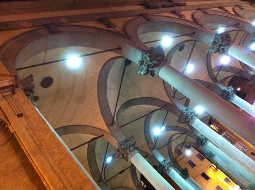 New Market, Florence Italy at night Mercato Nuovo