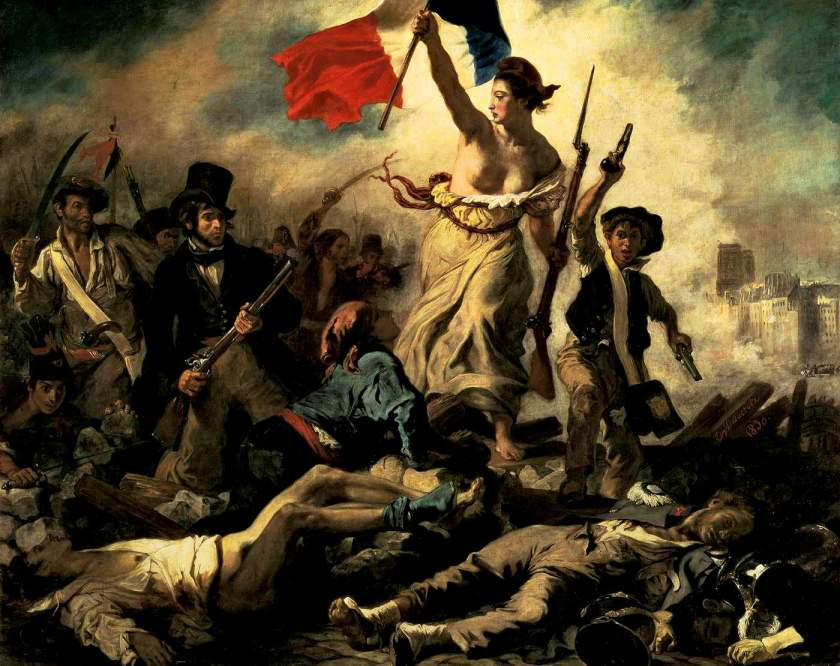 Marianne, Liberty leading the people