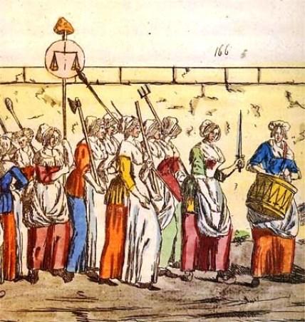 Women march on Versailles