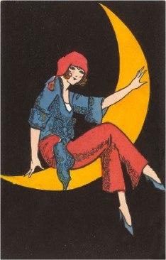 woman on moon 07