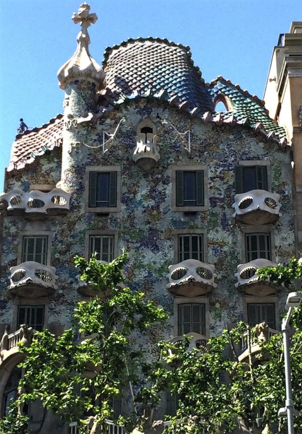 Casa Batllo, Gaudi, Barcelona