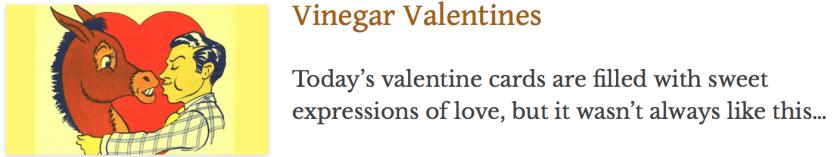 Vinegar valentines