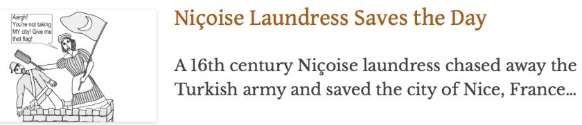 Catherine Segurane laundress, Turkish army