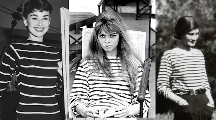 Audry, Brigitte, Coco in stripes