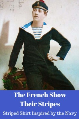 The French Show Their Stripes