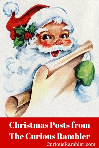 Christmas Posts from The Curious Rambler