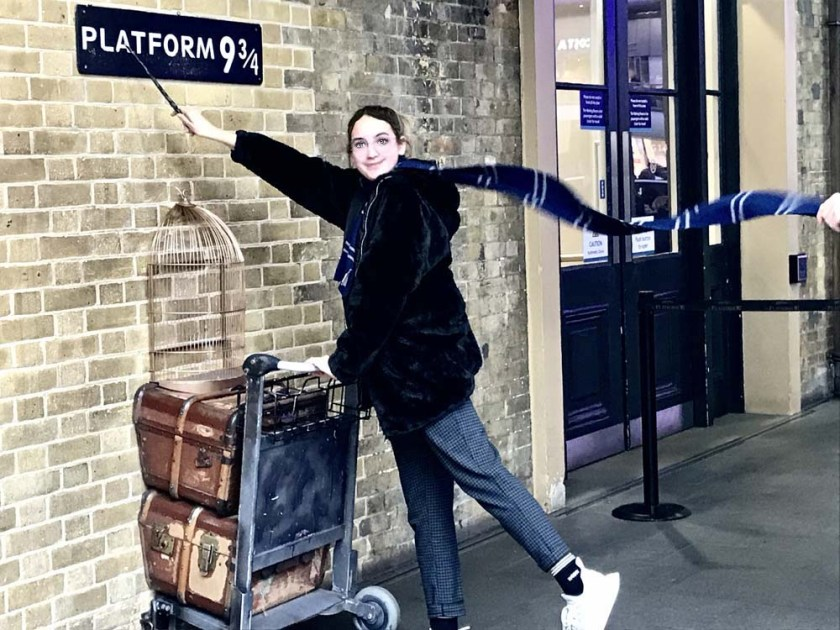 Platform 9 3/4 - Harry Potter