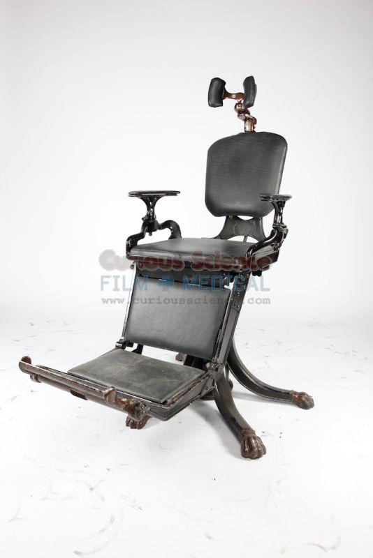 Period dental chair  Antique Dental Props