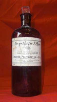 Ether Bottle c1900  Anaesthetics