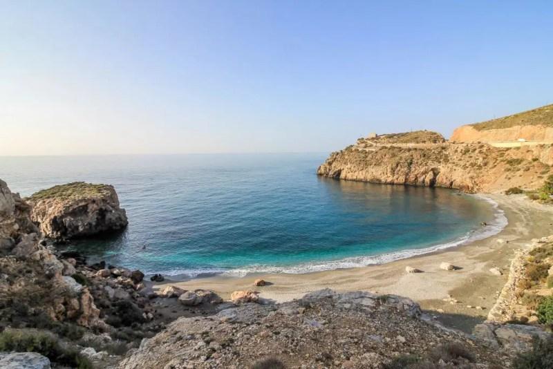 Spain's Costa Tropical: La Rijana Beach