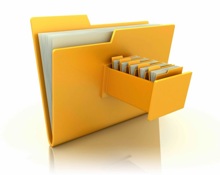 Yellow File Sharing Image