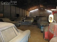 portugal barn finds cars stored in a large barn.