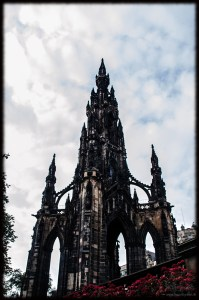 Scotland Edinburgh Scott Monument