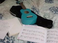 Friday 05-02-16. Got the ukulele out.