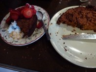 Saturday 20-02-16. A sweet potato cake. very nice, needed more mixed spice I think, and probably would have benefited from sugar.