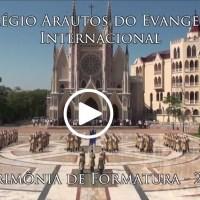 Formatura no Colégio Internacional Arautos do Evangelho - VÍDEO