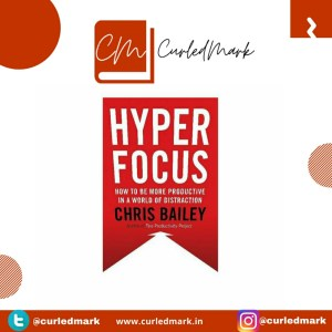 As the name suggests Hyperfocus is a self help book that summarizes the fact to be focused and achieve productivity.