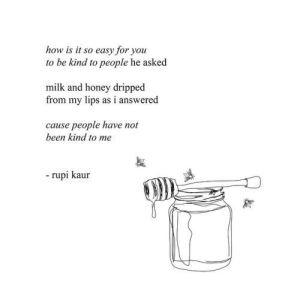 Milk and Honey Summary by Santwana Mohanty