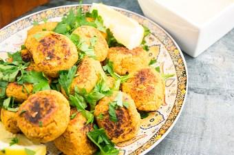 Recept linzenballetjes met ui en knoflook