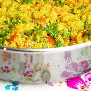 Paella Recept van quinoa met zeevruchten