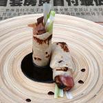 Pekingeend in pannenkoeken