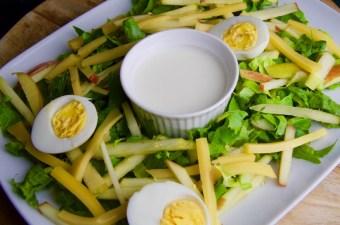 Recept Andijvie salade met ei