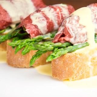 Recept Carpaccio met hollandaise saus