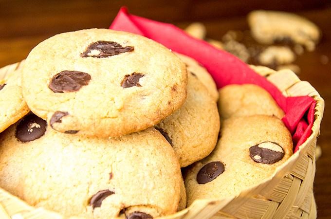 Recept Chocolate chip cookies