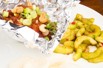 Recept kabeljauw met sambal