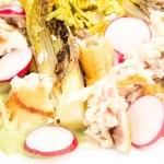 Recept Salade met forel, avocado en radijs