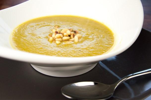 Recept Gele courgettesoep