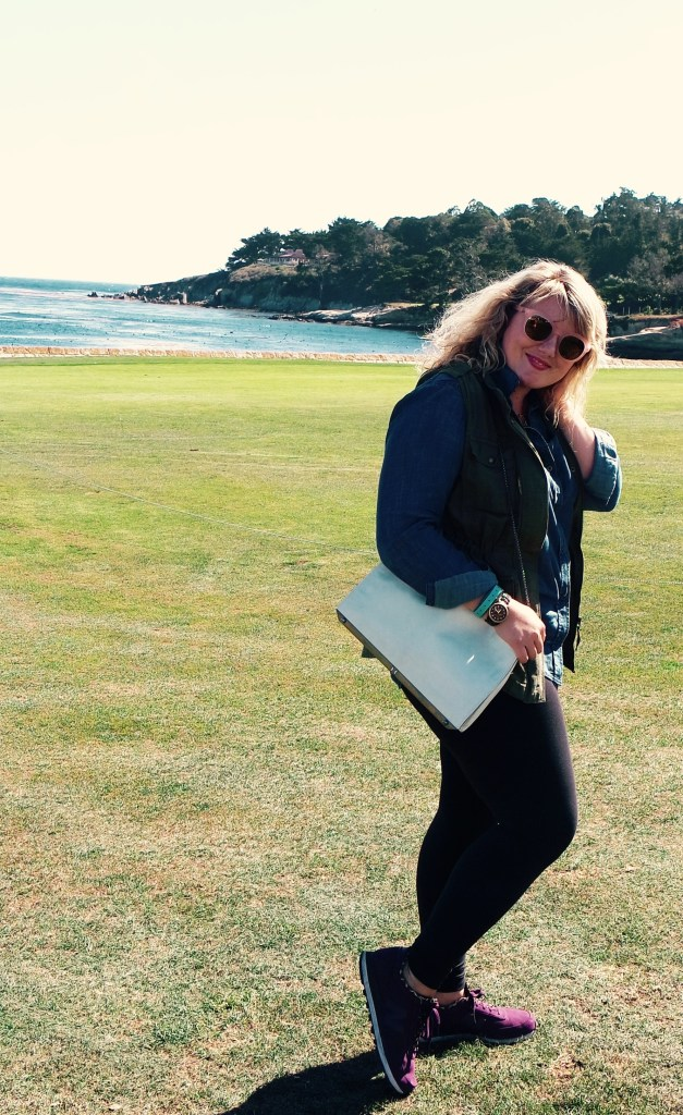 Pebble Beach, Curls and Contours