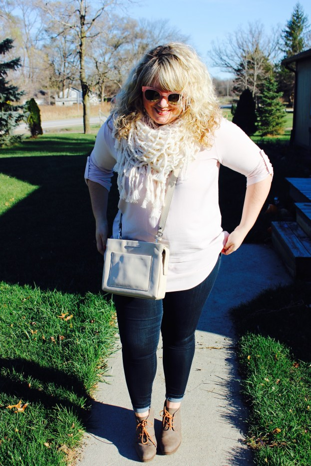 Curls and Contours, Plus Size Jeans and Tunics