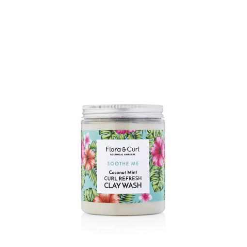 Coconut-mint-clay-wash
