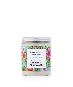 Coconut-mint-clay-wash