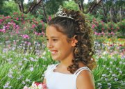 princess tiara hairstyle girls